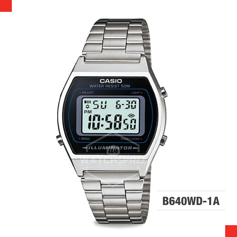 Casio Vintage Watch B640WD-1A