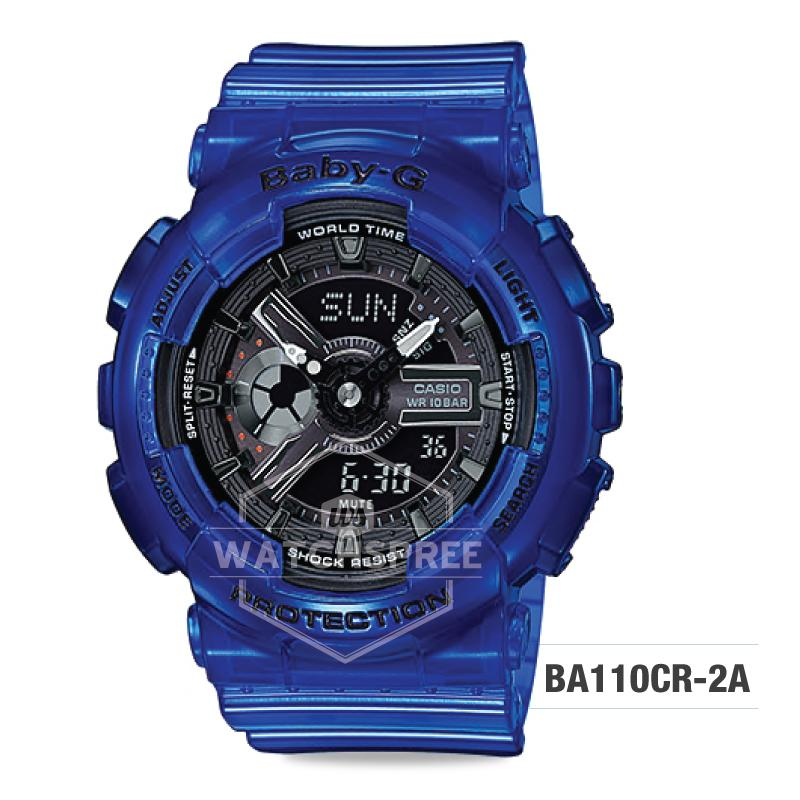 51d3b4f0fdc5 Casio Baby-G Aqua Planet Coral Reef Resin Band Watch BA110CR-2A ...