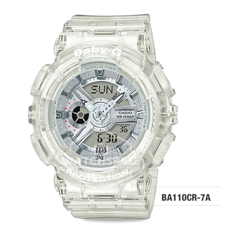 c181a99677e4 Casio Baby-G Aqua Planet Coral Reef Resin Band Watch BA110CR-7A ...