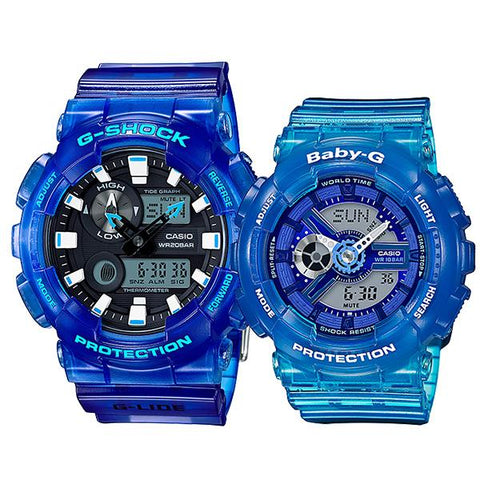 Casio Baby-G & G-Shock Couple Watches BA110JM-2A / GAX100MSA-2A