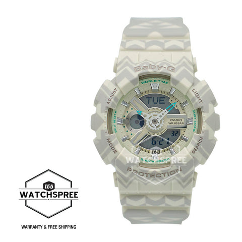 Casio Baby-G Tribal Design Strap Watch BA110TP-8A
