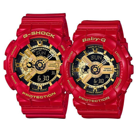 Casio Baby-G & G-Shock Couple Limited Models Watches BA110VLA-4A / GA110VLA-4A
