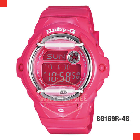 Casio Baby-G Watch BG169R-4B
