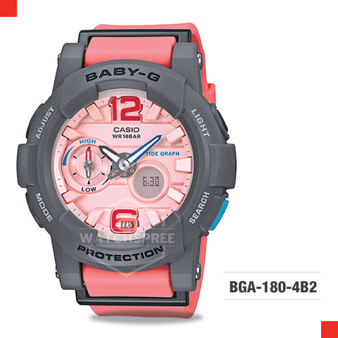 Casio Baby-G Watch BGA180-4B2