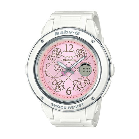 Casio Baby-G x Hello Kitty Limited Models White Resin Band Watch BGA150KT-7B BGA-150KT-7B
