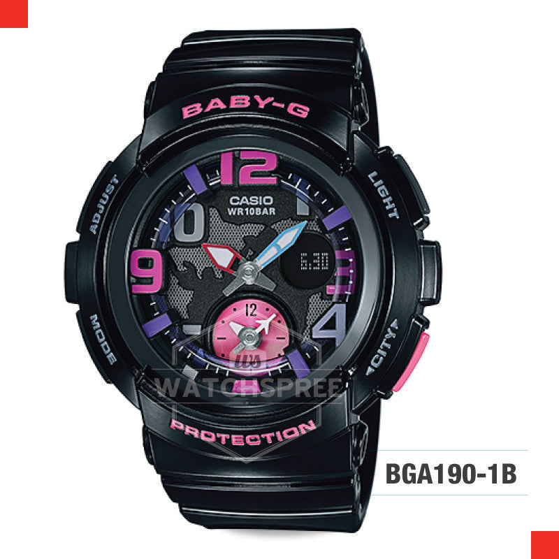 Casio Baby-G Watch BGA190-1B