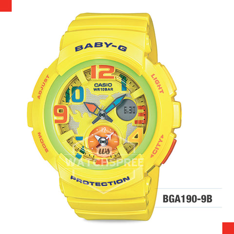 Casio Baby-G Watch BGA190-9B