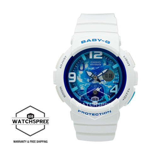 Casio Baby-G Analog Digital Beach Traveler Series Watch BGA190GL-7B