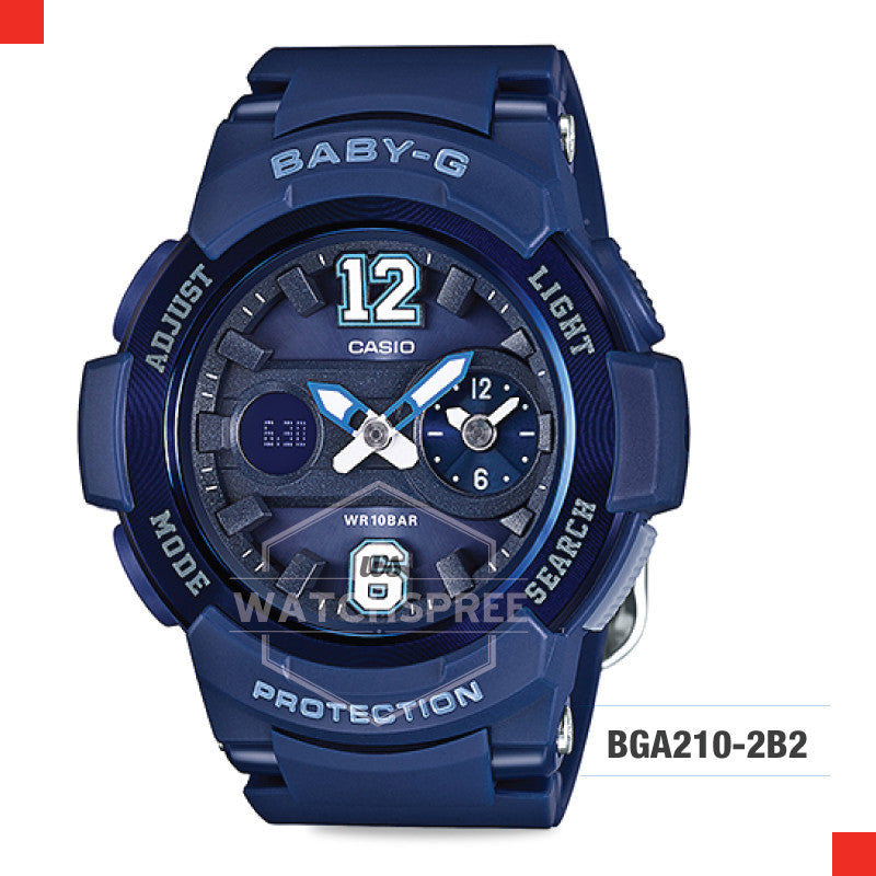 Casio Baby-G Watch BGA210-2B2