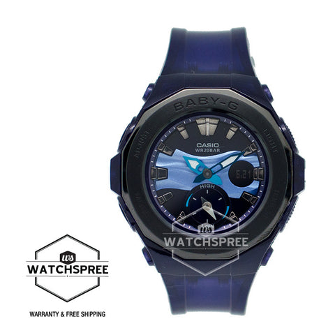 Casio Baby-G Digital Beach Glamping Series Watch BGA220B-2A