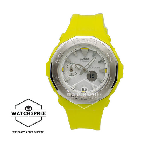 Casio Baby-G Beach Glamping Series Yellow Resin Watch BGA225-9A