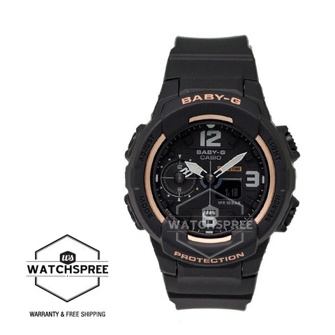 Casio Baby-G Limited Models Black Resin Watch BGA230GGA-1B