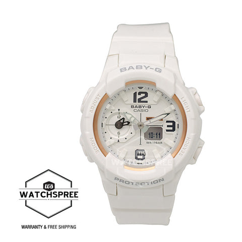 Casio Baby-G Girl's Generation Limited Edition Models White Resin Watch BGA230GGB-7B