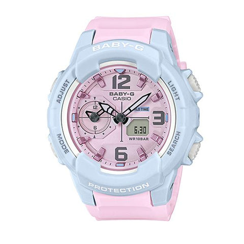 Casio Baby-G Summertime Pastel Colors Two Tone Resin Band Watch BGA230PC-2B BGA-230PC-2B