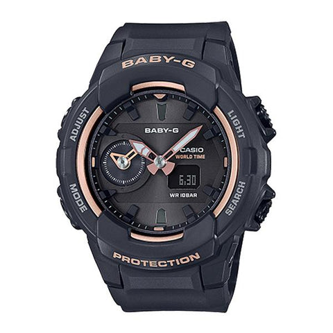 Casio Baby-G Standard Analog Digital Black Resin Band Watch BGA230SA-1A BGA-230SA-1A