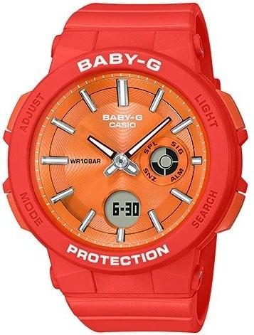 41c24b5eeb Casio Baby-G Wanderer Series Orange Resin Band Watch BGA255-4A BGA-255-4A