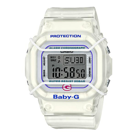 Casio Baby-G 25th Anniversary Semi-transparent Resin Band Watch BGD525-7D BGD-525-7D BGD-525-7