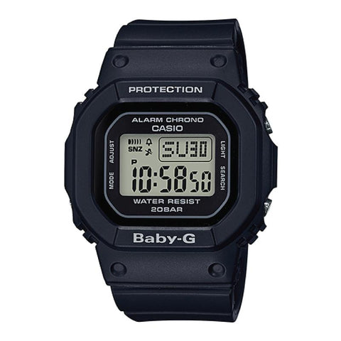 Casio Baby-G BGD-500 Series Black Resin Band Watch BGD560-1D