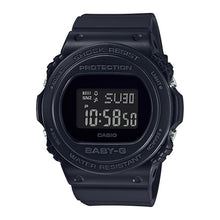 Load image into Gallery viewer, Casio Baby-G Standard Digital New Round Face Black Resin Band Watch BGD570-1D BGD-570-1D BGD-570-1