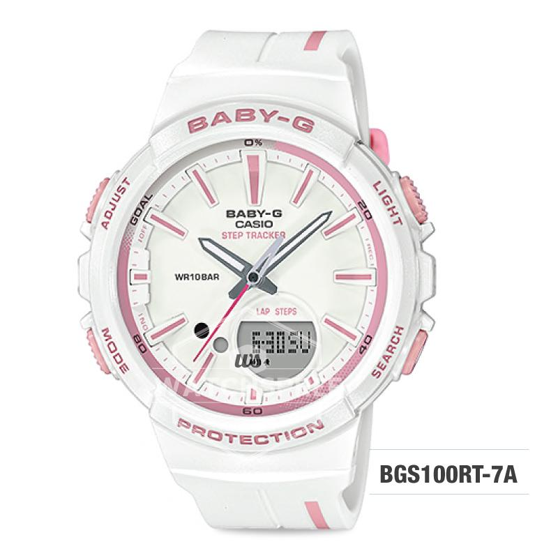 0f2a330c8536 Casio Baby-G Step Tracker For Running Series Watch BGS100RT-7A   Watchspree