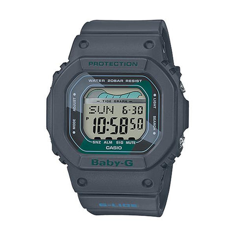 Casio Baby-G Glide BLX-560 Lineup Black Resin Band Watch BLX560VH-1D BLX-560VH-1D BLX-560VH-1