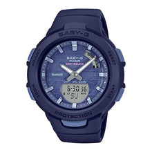 Load image into Gallery viewer, Casio Baby-G G-Squad Bluetooth® Blue Resin Band Watch BSAB100AC-2A BSA-B100AC-2A