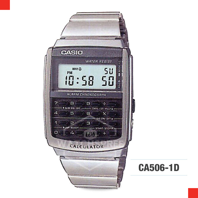 Casio Vintage Watch CA506-1D