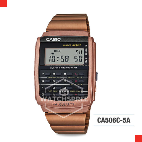 Casio Vintage Watch CA506C-5A