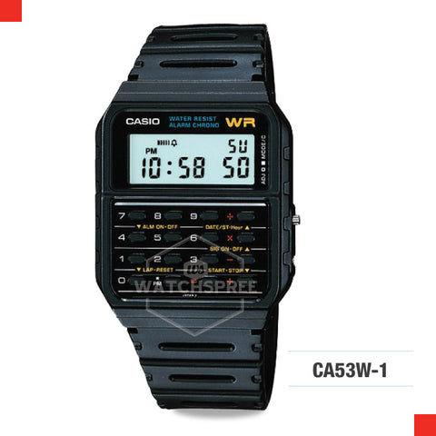 Casio Vintage Watch CA53W-1Z