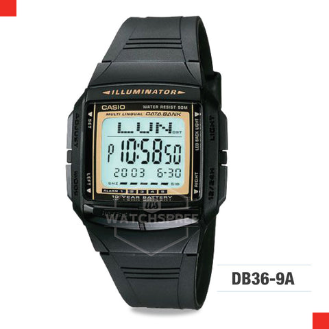 Casio Vintage Watch DB36-9A