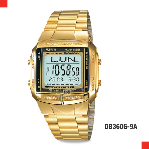 Casio Vintage Watch DB360G-9A