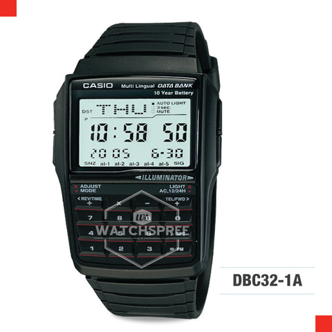 Casio Vintage Watch DBC32-1A