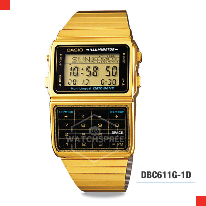 Casio Vintage Watch DBC611G-1D