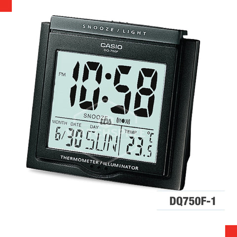Casio Clock DQ750F-1D
