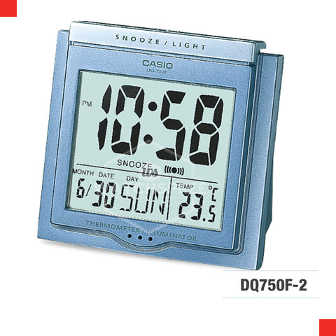 Casio Clock DQ750F-2D