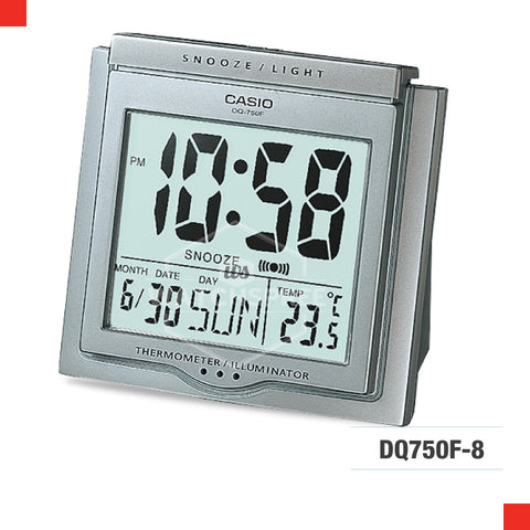 Casio Clock DQ750F-8D