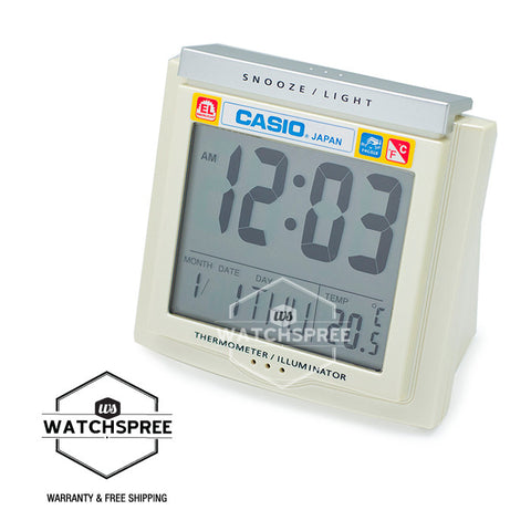 Casio Clock DQ750F-7D