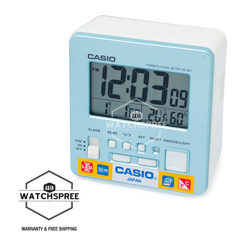 Casio Clock DQ981-2D