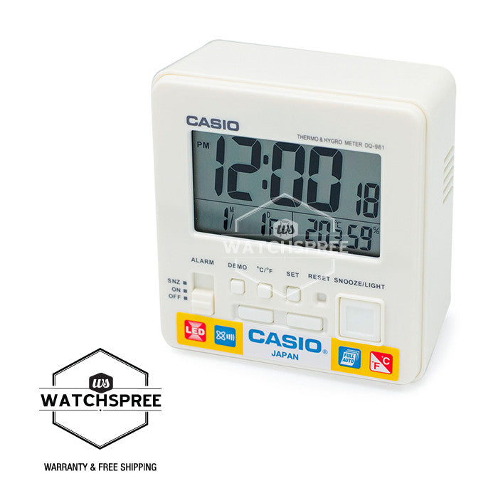 Casio Clock DQ981-7D