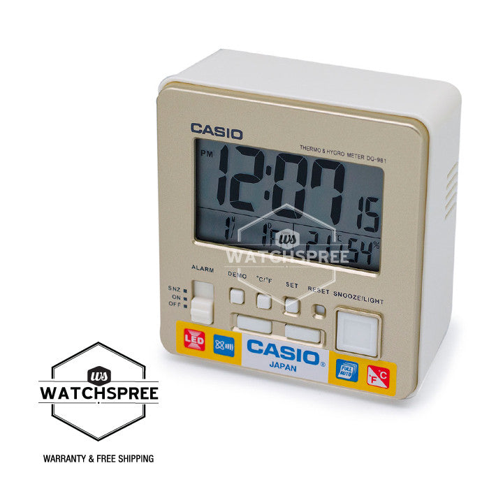 Casio Clock DQ981-9D
