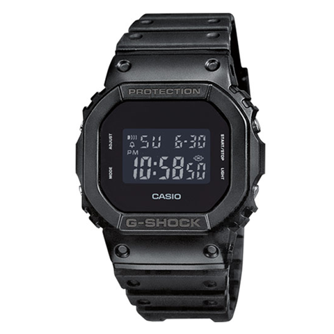 Casio G-Shock Basic Black Matte Resin Band Watch DW5600BB-1D DW-5600BB-1D