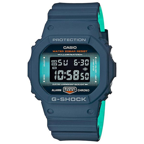 Casio G-Shock DW-5600 Lineup Special Color Models Matte Navy Blue Resin Band Watch DW5600CC-2D DW-5600CC-2D DW-5600CC-2