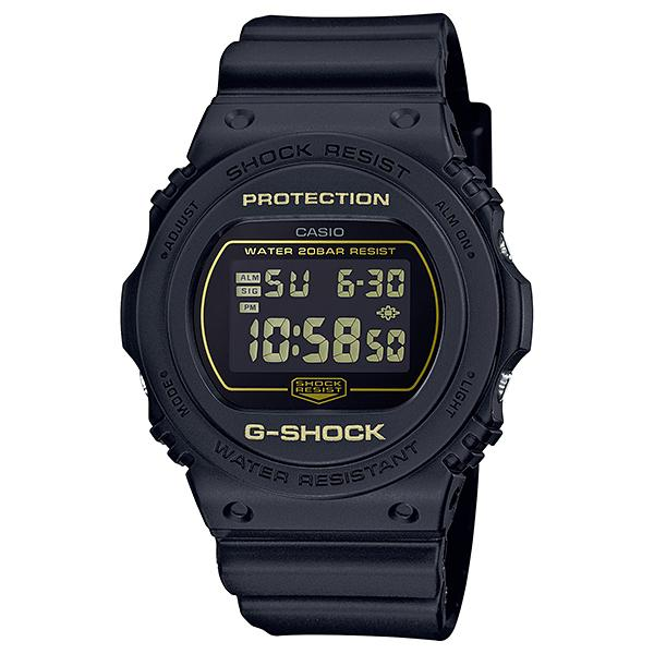 Casio G-Shock DW-5700 Lineup Special Color Model Matte Black Resin Band Watch DW5700BBM-1D DW-5700BBM-1D DW-5700BBM-1