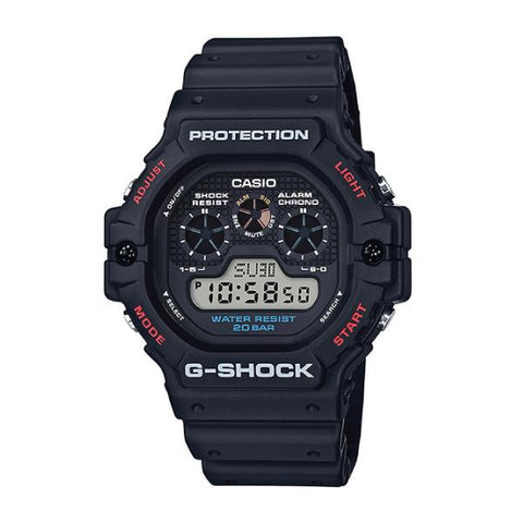 Casio G-Shock 35 years DW5900 Series Black Resin Band Watch DW5900-1D DW-5900-1D DW-5900-1
