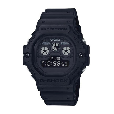 Casio G-Shock Special Color Models Neoclassic Matte Black Resin Band Watch DW5900BB-1D DW-5900BB-1D DW-5900BB-1