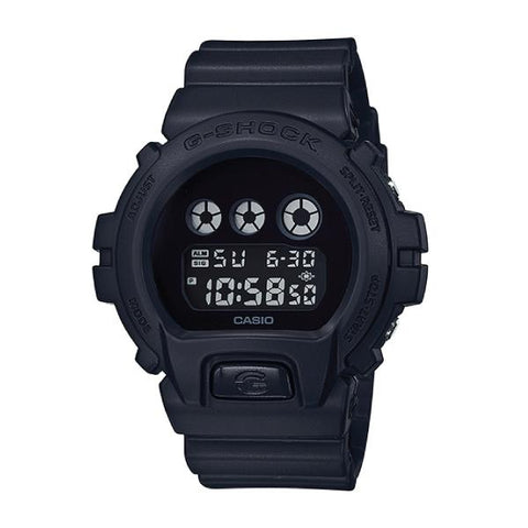 Casio G-Shock Special Color Models Neoclassic Matte Black Resin Band Watch DW6900BBA-1D DW-6900BBA-1D DW-6900BBA-1