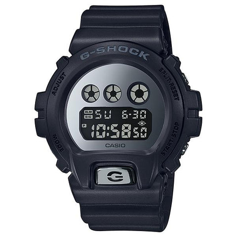 Casio G-Shock Special Color Metallic Mirror Face Black Resin Band Watch DW6900MMA-1D DW-6900MMA-1D