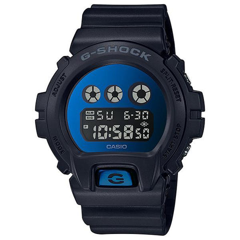 Casio G-Shock Special Color Metallic Mirror Face Black Resin Band Watch DW6900MMA-2D DW-6900MMA-2D