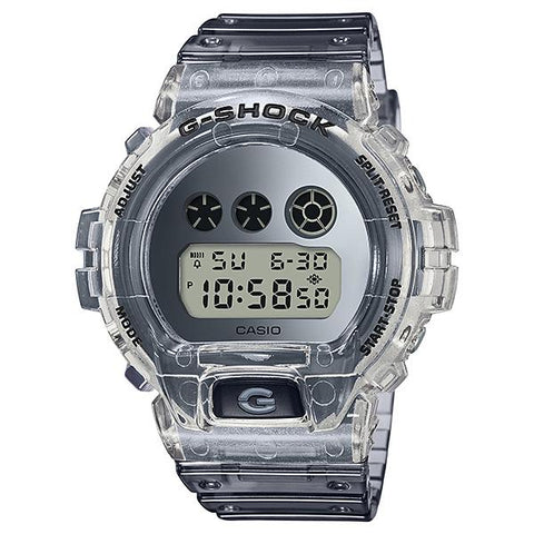 Casio G-Shock DW-6900 Lineup Special Color Models Semi-Transparent Resin Band Watch DW6900SK-1D DW-6900SK-1D DW-6900SK-1