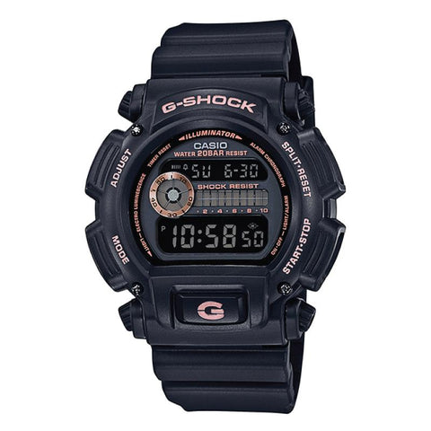 Casio G-Shock Special Color Models Black Resin Band Watch DW9052GBX-1A4 DW-9052GBX-1A4